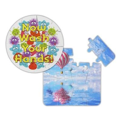 Picture of GNALVIC PVC 16 PIECE JIGSAW PUZZLE COASTER