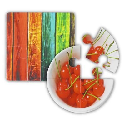 Picture of GNALVIC PVC FOUR PIECE JIGSAW PUZZLE COASTER
