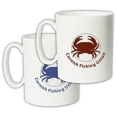 Picture of RECYCLED TRANSIT MUG in White