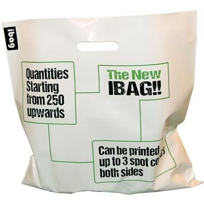 Picture of HEAVY DUTY POLYTHENE PLASTIC SHOPPER CARRIER BAG