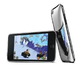 Picture of APPLE IPOD TOUCH MP3 PLAYER in Silver & Black