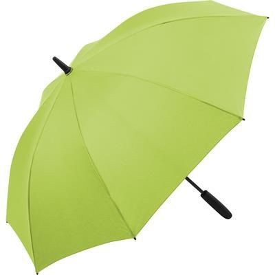 Picture of ATTRACTIVE MIDSIZE AUTOMATIC REGULAR UMBRELLA with Interior LED Light in Lime