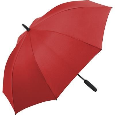 Picture of ATTRACTIVE MIDSIZE AUTOMATIC REGULAR UMBRELLA with Interior LED Light in Red