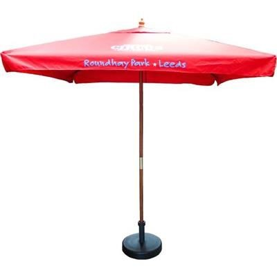 Picture of 2M SQUARE WOOD PARASOL