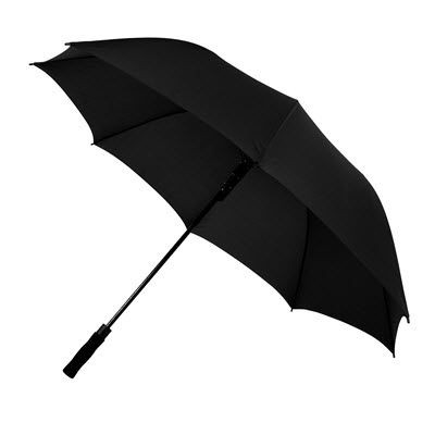 Picture of GOLF UMBRELLA AUTOMATIC WINDPROOF in Black