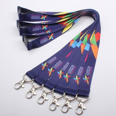 Picture of DYE SUBLIMATION HEAT TRANSFER PRINTED LANYARD