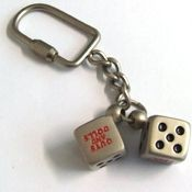 Picture of DIE CAST METAL KEYRING