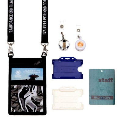 Picture of LANYARD HARD PLASTIC CARD HOLDER