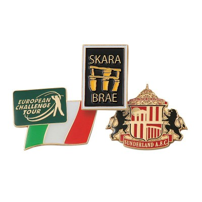 Picture of SOFT ENAMEL LAPEL PIN BADGE