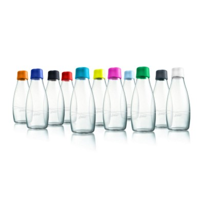 Picture of RETAP GLASS BOTTLE 05 with Plastic Lid