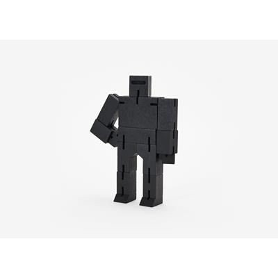 Picture of CUBEBOT SMALLWOODEN ROBOT PUZZLE in Black