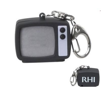 Picture of RETRO TV KEYRING CHAIN with LED Light