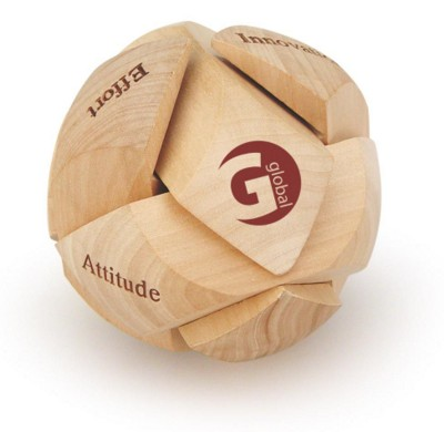 Picture of PUZZLE SPHERE in Wood
