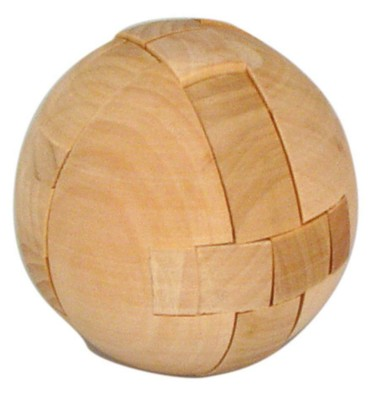 Picture of PUZZLE BALL in Wood