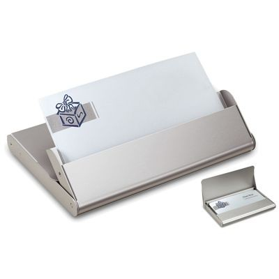 Picture of HALIFAX METAL BUSINESS CARD HOLDER in Silver