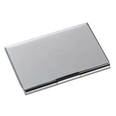 Picture of CLASSIC SILVER PLATED METAL BUSINESS CARD OR CREDIT CARD CASE