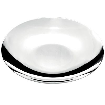 Picture of ROUND METAL TRAY in Silver