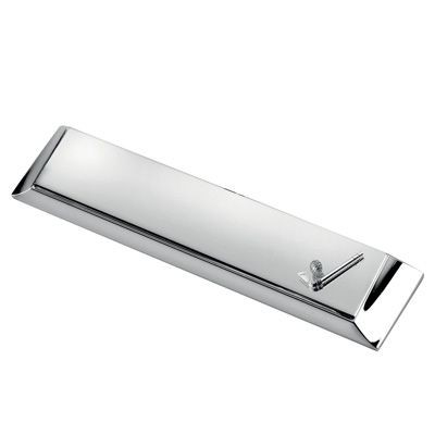 Picture of CLASSIC METAL GOLF PEN HOLDER in Silver