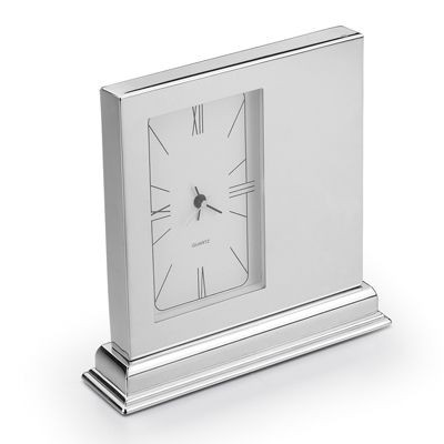 Picture of FAMILY METAL DESK CLOCK in Silver