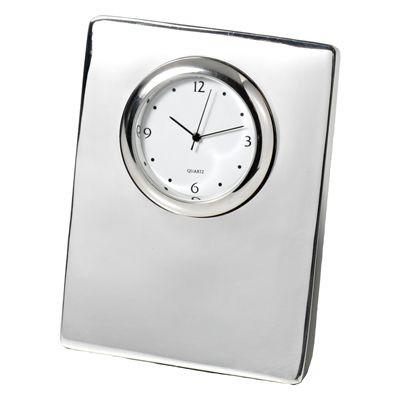 Picture of CAPRI METAL DESK CLOCK in Silver
