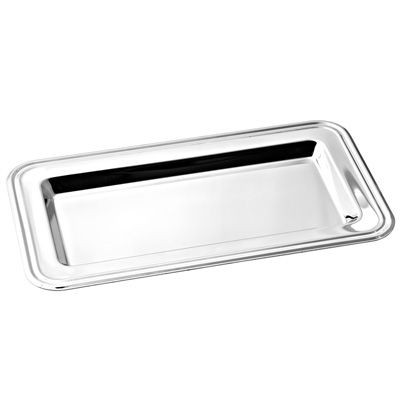 Picture of RECTANGULAR METAL TRAY in Silver