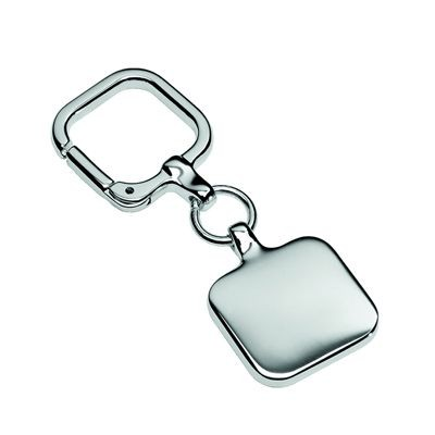 Picture of CASTOR METAL KEYRING in Silver
