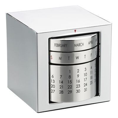 Picture of PERPETUAL METAL CALENDAR in Silver