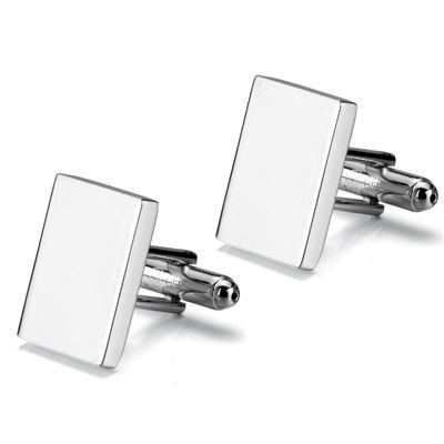 Picture of METAL CUFF LINKS in Silver