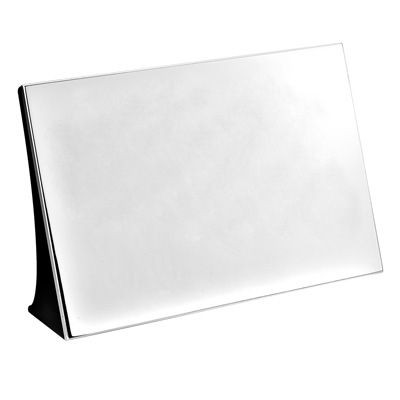 Picture of METAL DESK PLAQUE NAMEPLATE in Silver