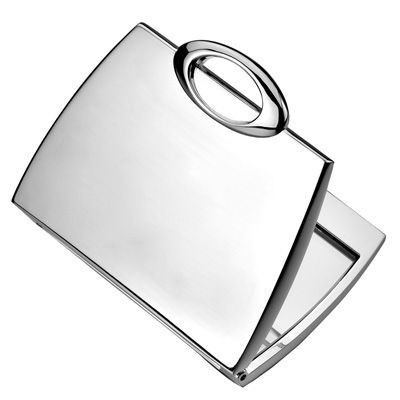 Picture of METAL PURSE COMPACT MIRROR in Silver
