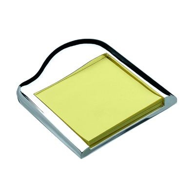 Picture of APPOLLO METAL POST-IT NOTE HOLDER in Silver
