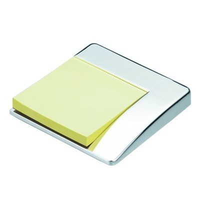 Picture of CORNER METAL POST-IT NOTE HOLDER in Silver