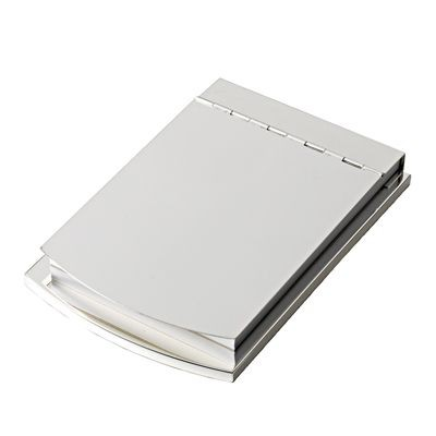 Picture of METAL MEMO NOTE PAD HOLDER in Silver