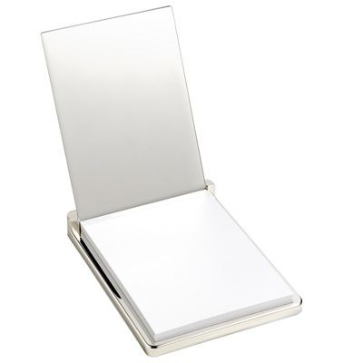 Picture of MASTER METAL MEMO NOTE PAD HOLDER in Silver