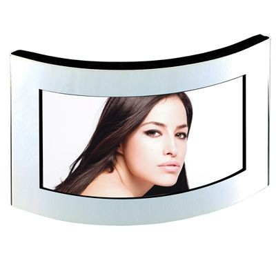 Picture of METAL PHOTO FRAME CURVE in Silver
