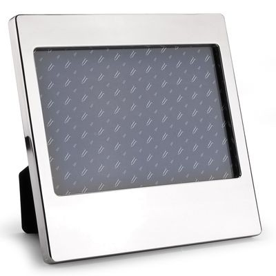 Picture of SMOOTH METAL PHOTO FRAME in Silver