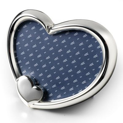 Picture of HEART METAL PHOTO FRAME in Silver