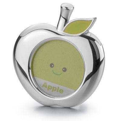 Picture of APPLE METAL PHOTO FRAME in Silver