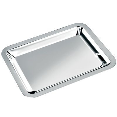 Picture of MEDIUM METAL TRAY in Silver