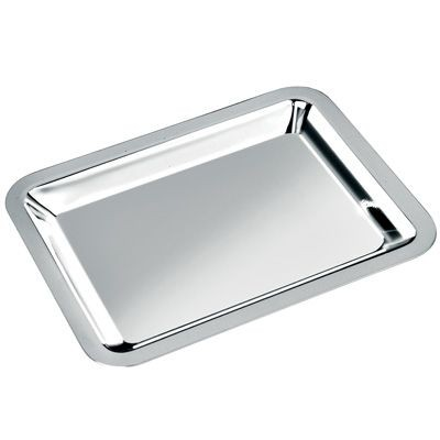 Picture of LARGE METAL TRAY in Silver