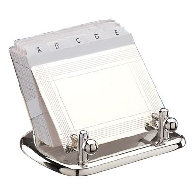 Picture of MARVIN METAL PHONE BOOK in Silver