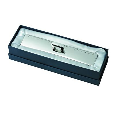 Picture of JUMBO METAL RULER in Silver