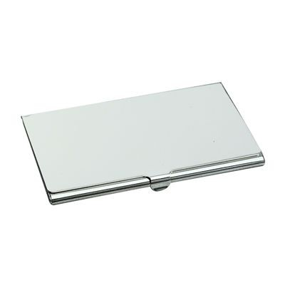 Picture of CLASSIC POCKET BUSINESS CARD HOLDER in Silver