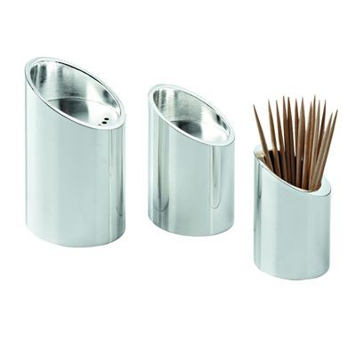 Picture of 3 IN 1 CRUET SET in Silver