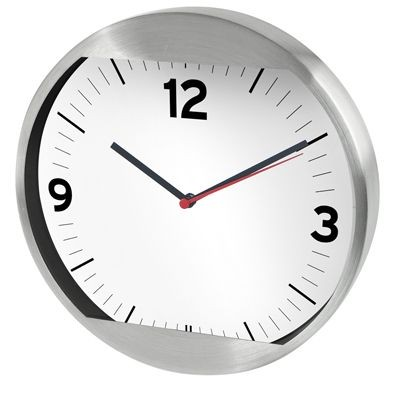 Picture of WALL CLOCK in Silver