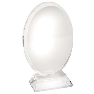 Picture of OVAL GLASS TROPHY AWARD