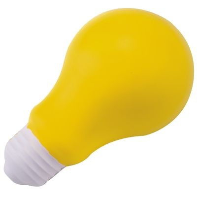 Picture of STRESS LIGHT BULB in Yellow