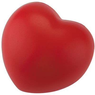 Picture of STRESS LOVE HEART in Red