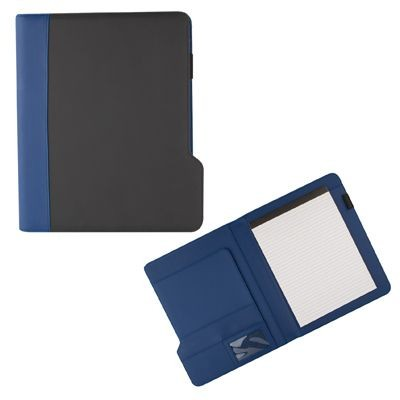 Picture of PU CONFERENCE FOLDER in Blue & Black