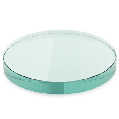 Picture of ROUND GREEN GLASS PAPERWEIGHT